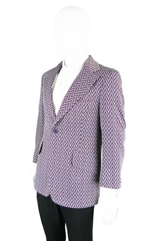 Purple Leather Jacket Mens
