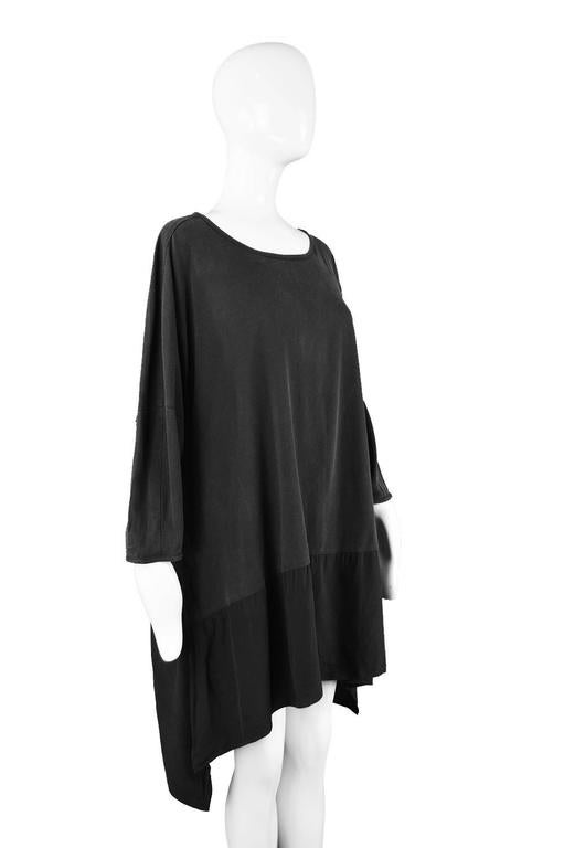 Rare Workers for Freedom Draped Avant Garde Minimalist Tunic, Spring 1995 6