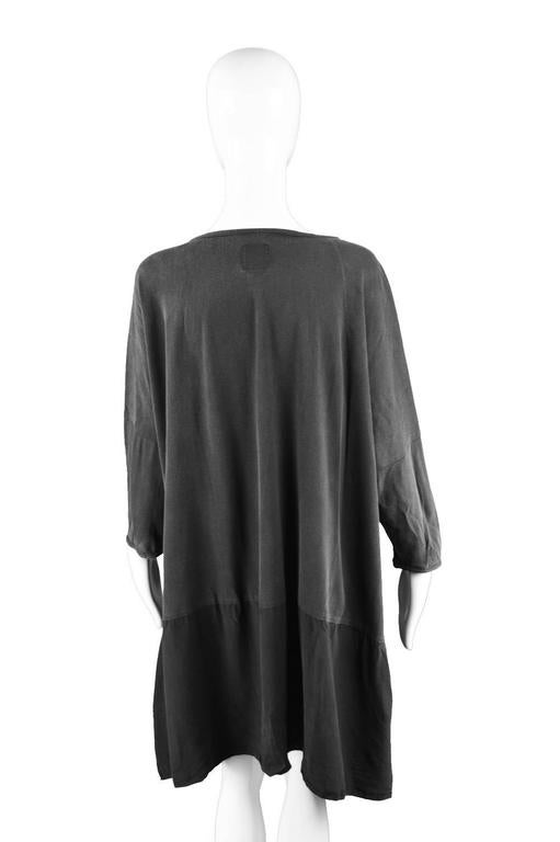 Rare Workers for Freedom Draped Avant Garde Minimalist Tunic, Spring 1995 7
