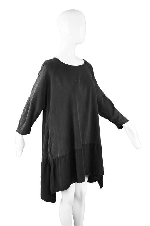Rare Workers for Freedom Draped Avant Garde Minimalist Tunic, Spring 1995 4