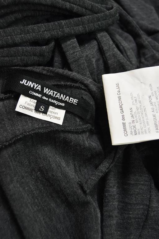 Junya Watanabe for Comme des Garcons Deconstructed Fine Knit Fringe Dress 7