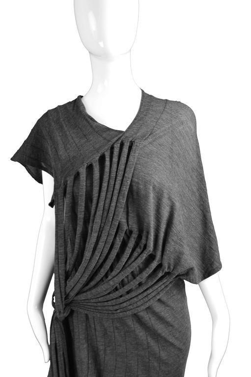 Junya Watanabe for Comme des Garcons Deconstructed Fine Knit Fringe Dress 3