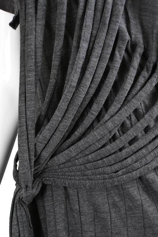 Junya Watanabe for Comme des Garcons Deconstructed Fine Knit Fringe Dress 5