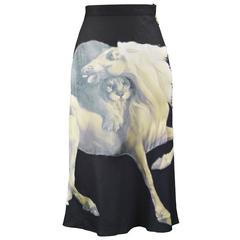 Chloe by Stella McCartney Skirt with George Stubbs Horse Appliqué, S/S 2001