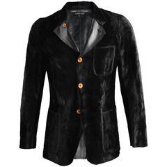 Comme des Garcons Homme Plus Men's Faux Fur Blazer Jacket, A/W 2002