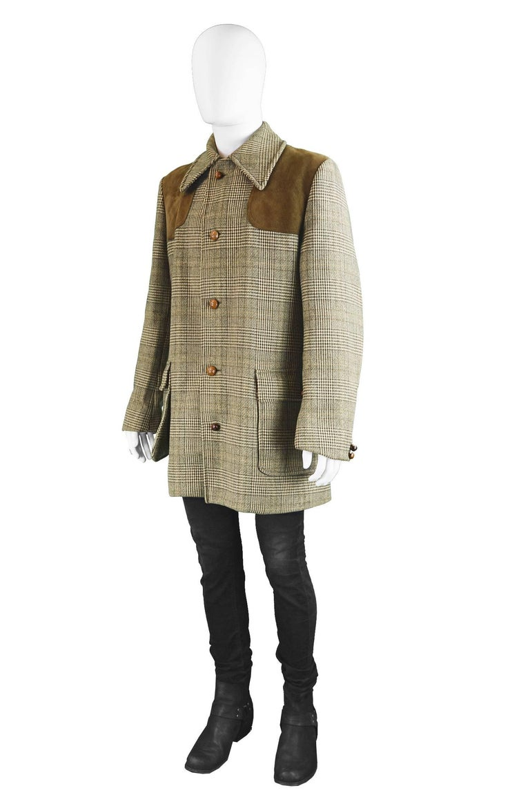 Invertere For Simpson Of Piccadilly Mens Vintage Wool And