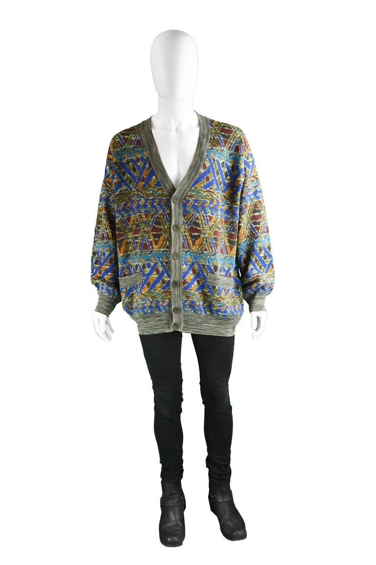 Vintage Multicolored Mens Sweater 21