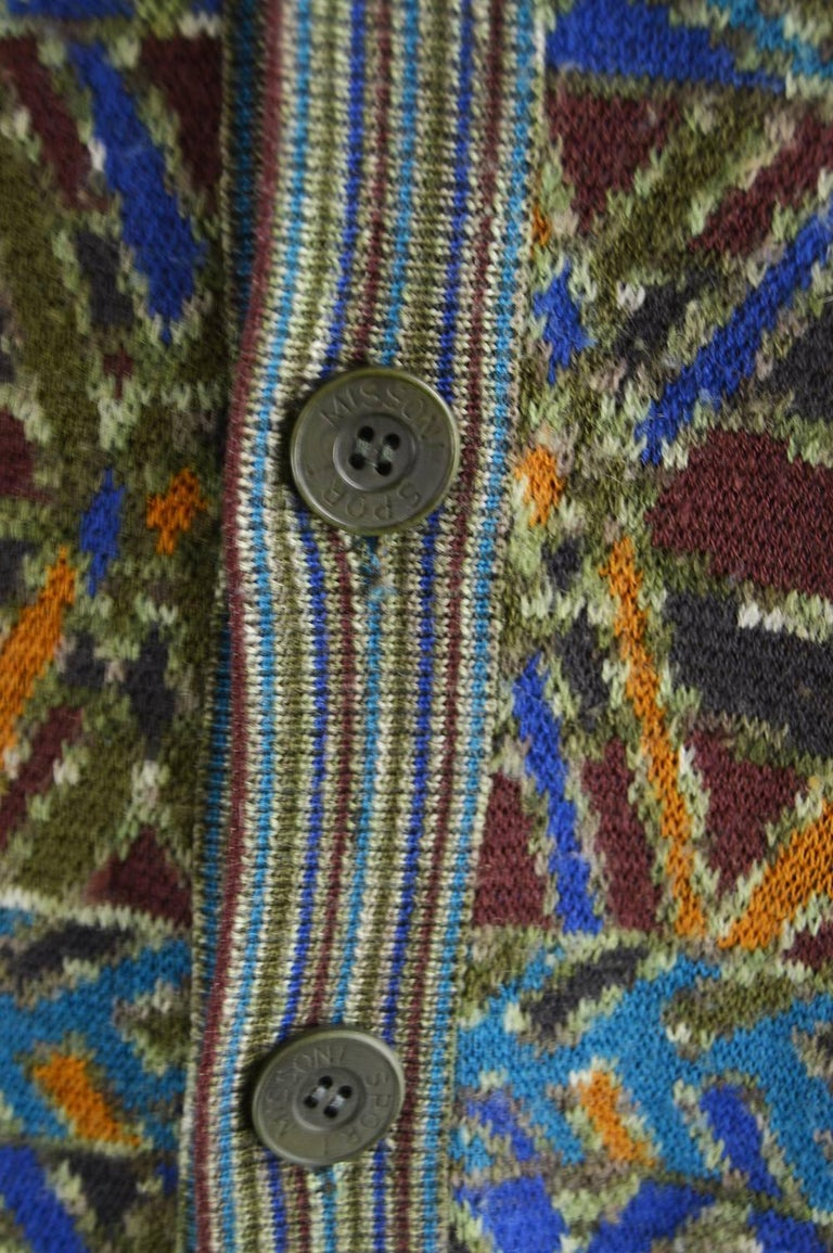Vintage Multicolored Mens Sweater 8