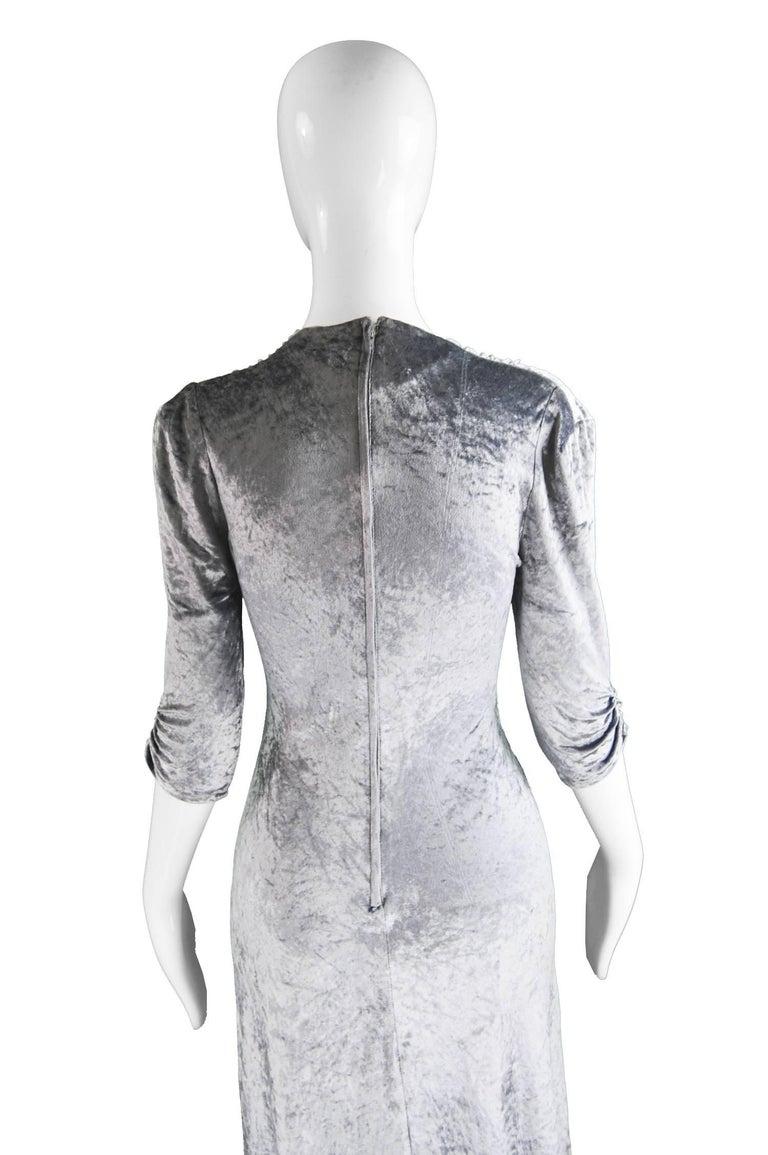 Irvine Sellars of Carnaby Street Vintage Silver Velvet ...