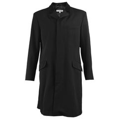 Katharine Hamnett Men's Vintage Black Wool Victorian Style Frock Coat, 1990s