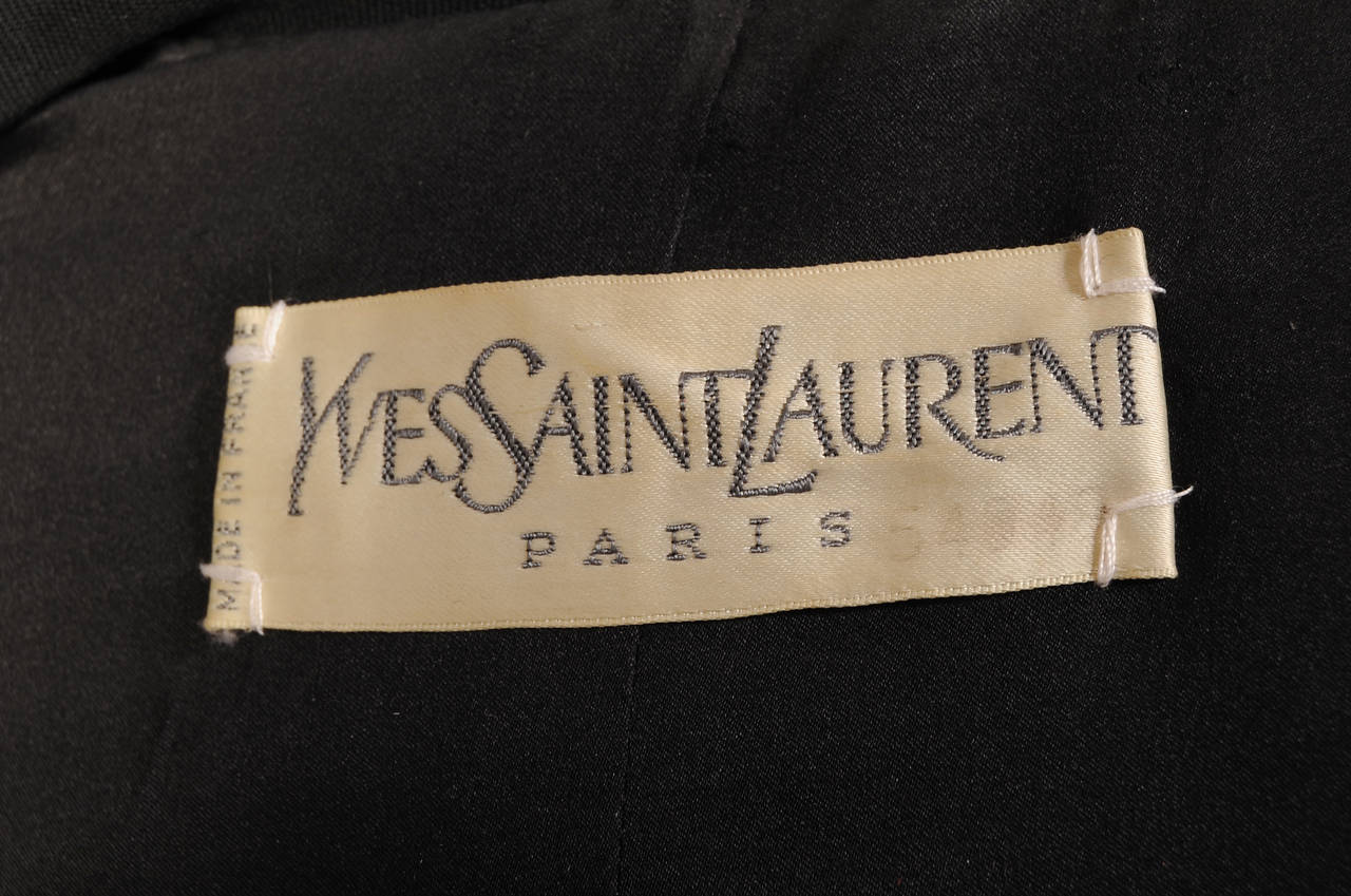 Yves Saint Laurent Numbered Haute Couture Le Smoking Suit For Sale 1