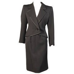 Yves Saint Laurent Numbered Haute Couture Le Smoking Suit