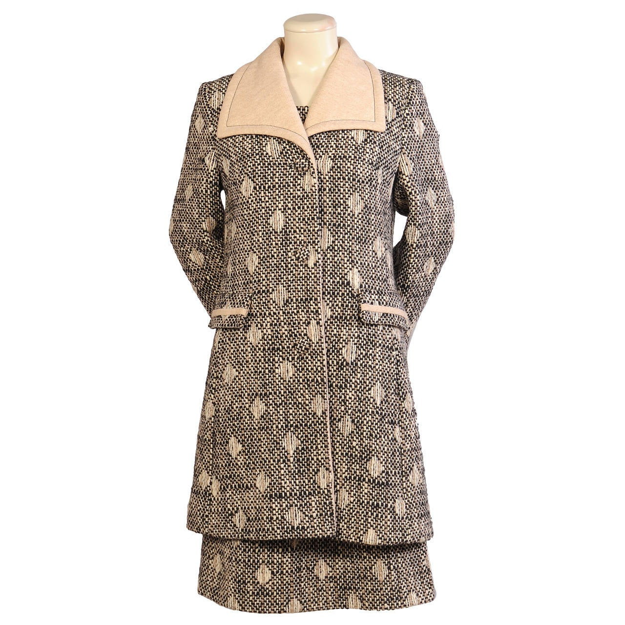 Lilli Ann Coat & Dress Ensemble