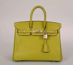 Hermes Green Birkin Bag, 24cm