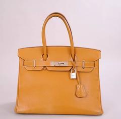 Hermes Gold Birkin Bag, 30 cm
