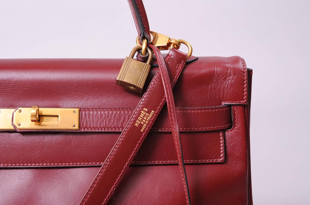 vintage hermes kelly bags