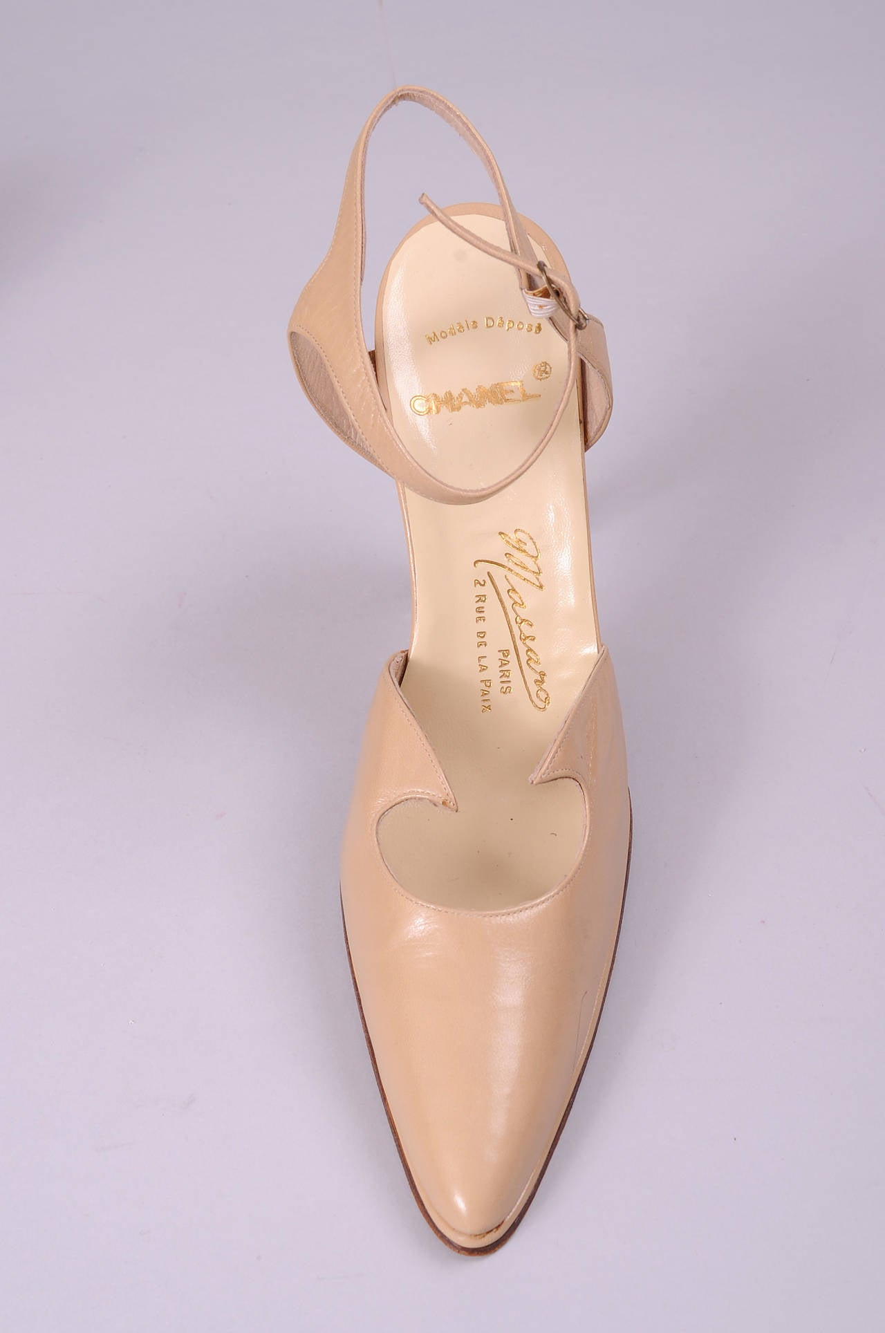 Massaro for Chanel Haute Couture Runway Worn Hand Made Shoes 2