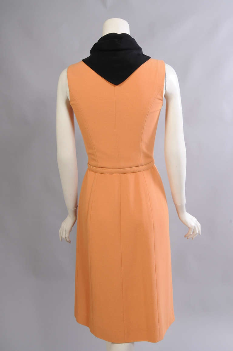karl lagerfeld for chloe salmon cotton dress never worn for sale at 1stdibs. Black Bedroom Furniture Sets. Home Design Ideas