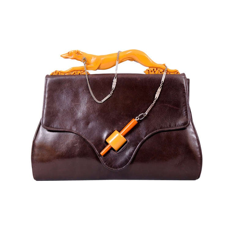 1stdibs Rare Unusual 3 In 1 Bakelite Handbag