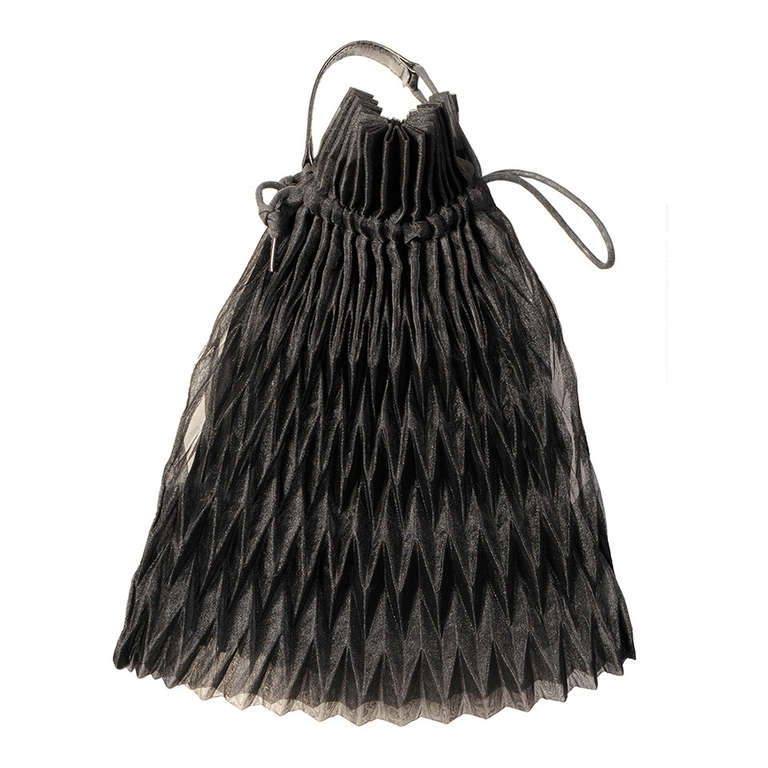 01ac542122 Issey Miyake Pleated Evening Bag