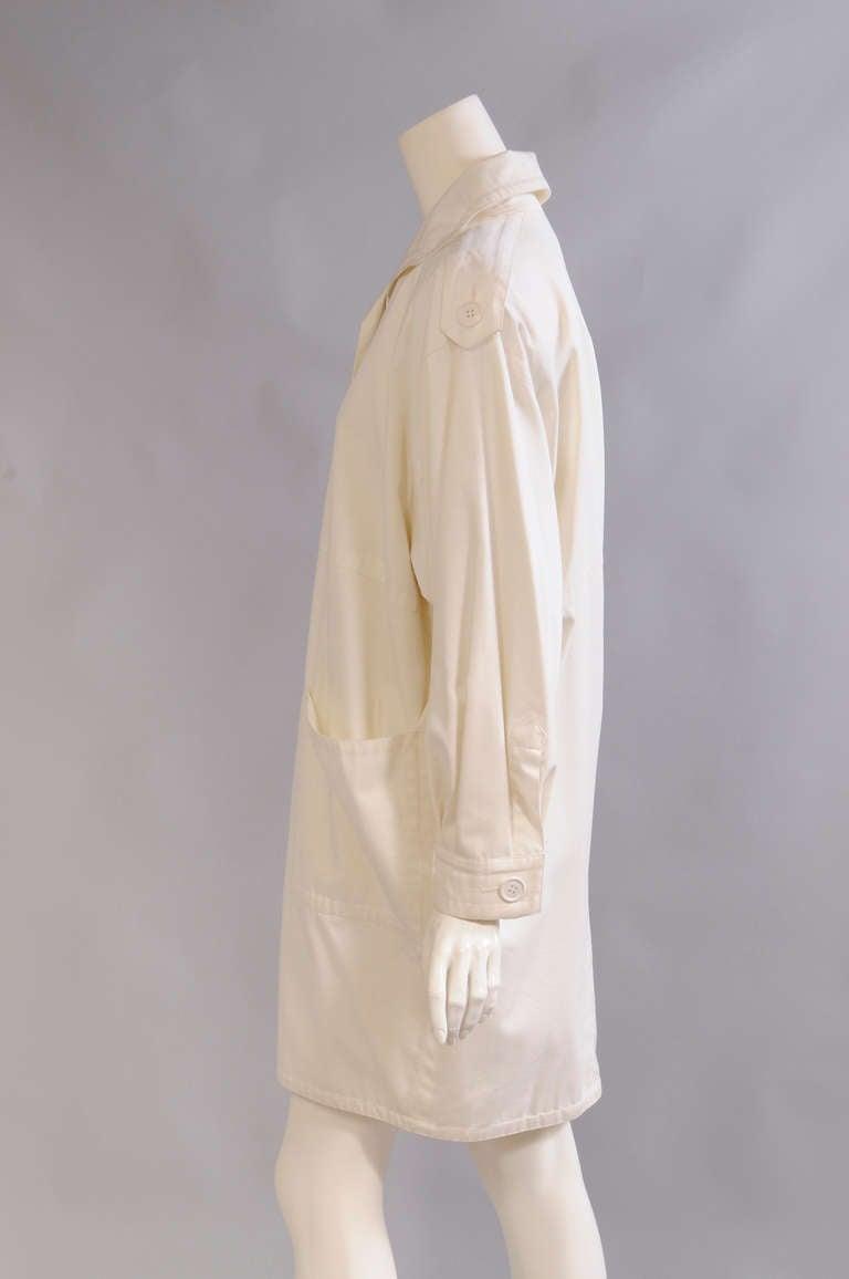 Yves Saint Laurent Lightweight Coat 2