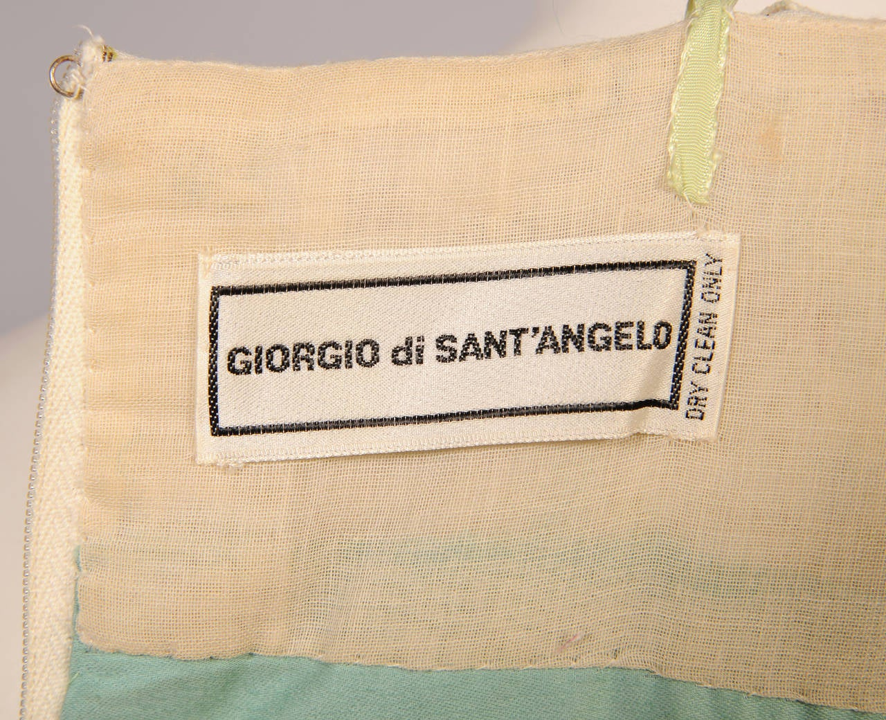 Early Giorgio di Sant' Angelo Maxi Dress and Shawl For Sale 1
