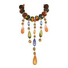 Givenchy Haute Couture Runway Worn Necklace