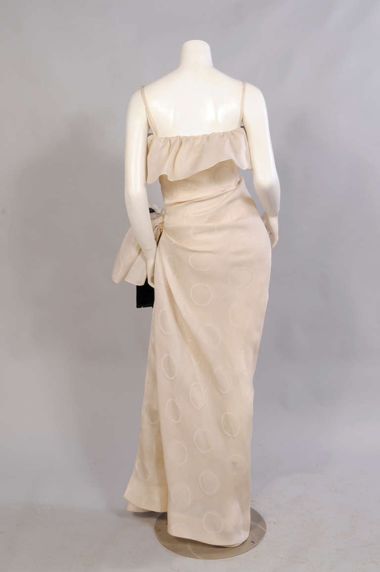 Givenchy haute couture silk gazar evening dress at 1stdibs for Haute couture dress price