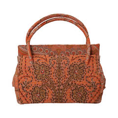 Laddie Northridge 1950's Beaded Paisley Bag & Hat