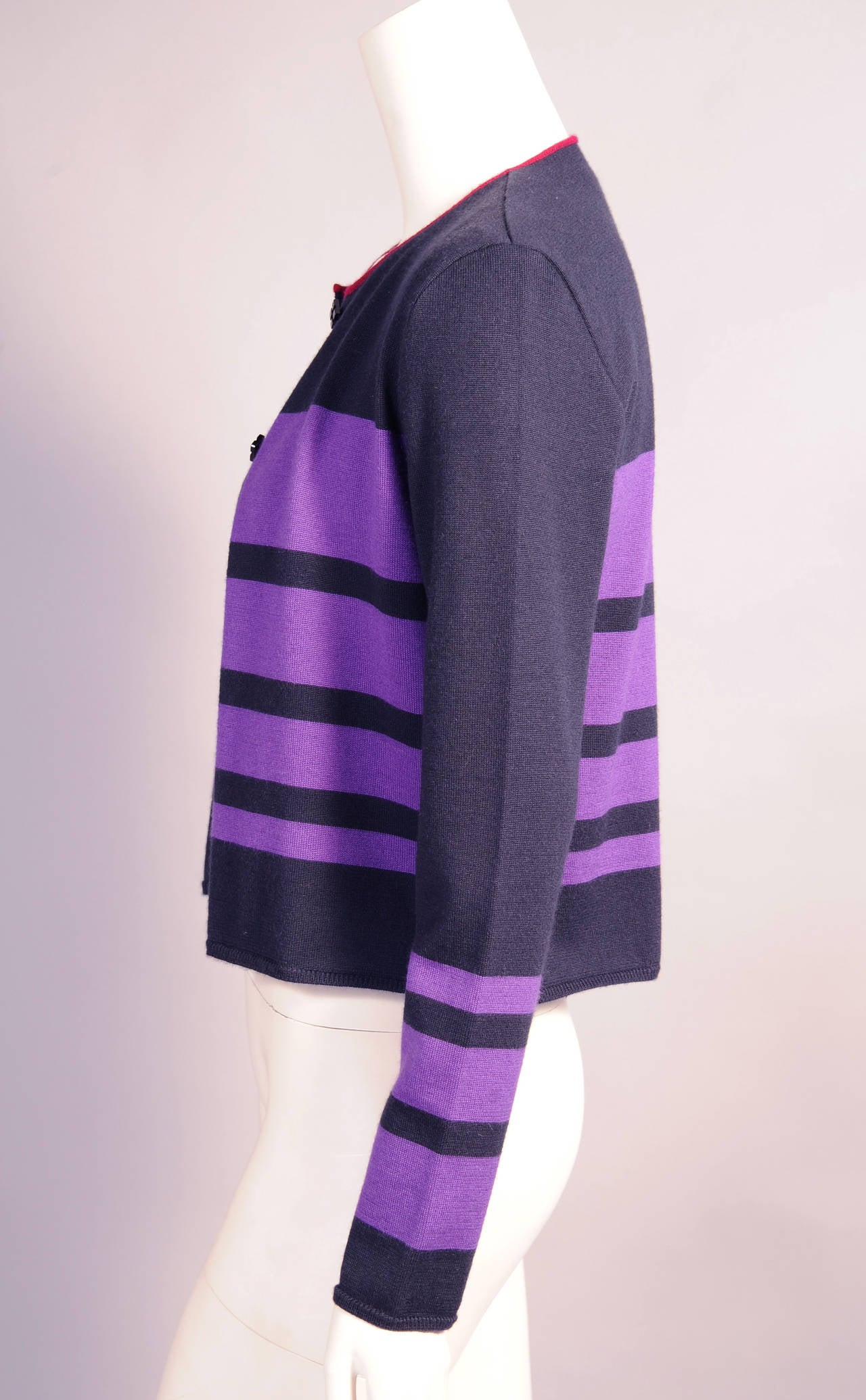 Chanel Cashmere Cardigan and Shell Set 3