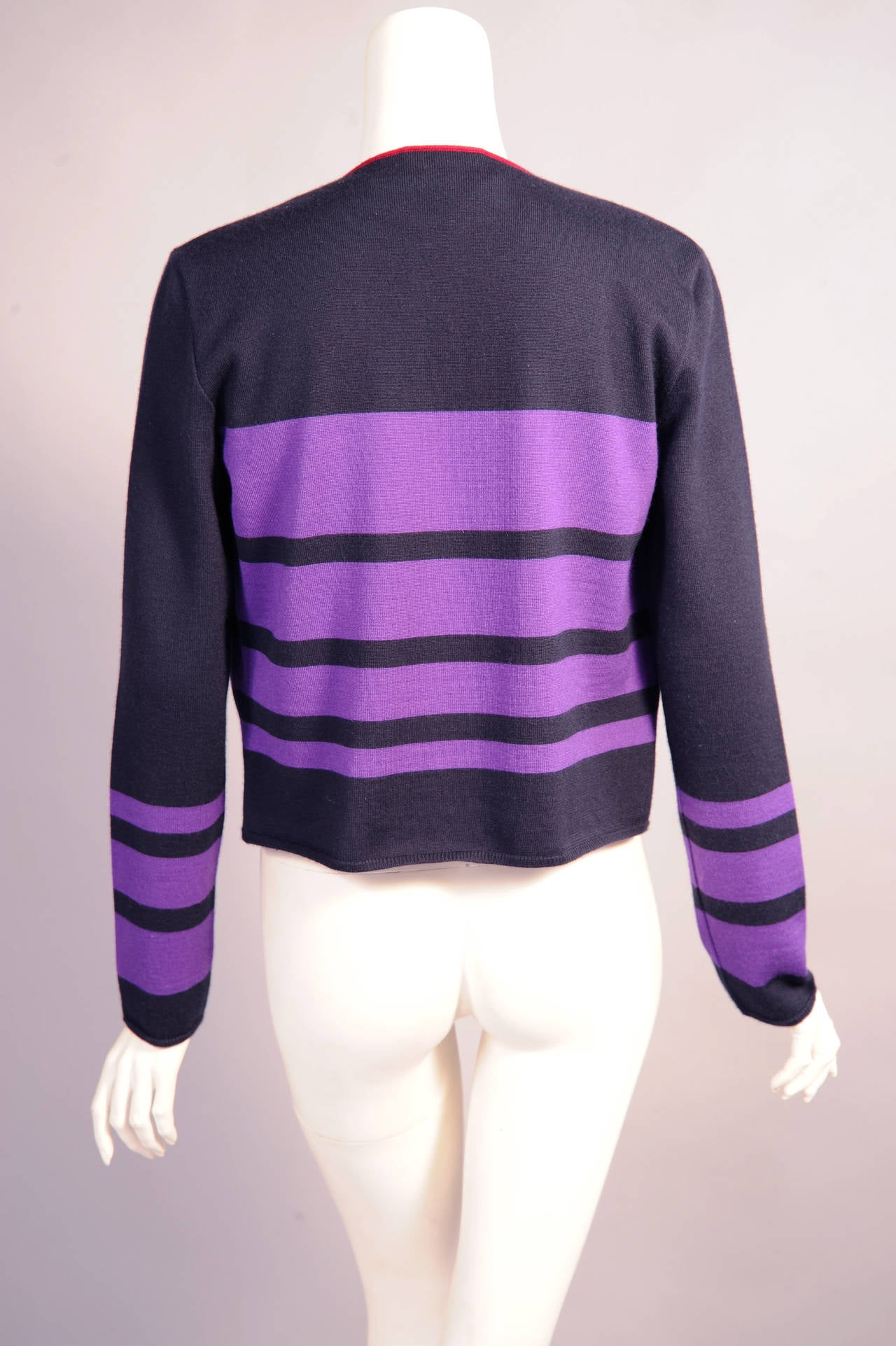 Chanel Cashmere Cardigan and Shell Set 4