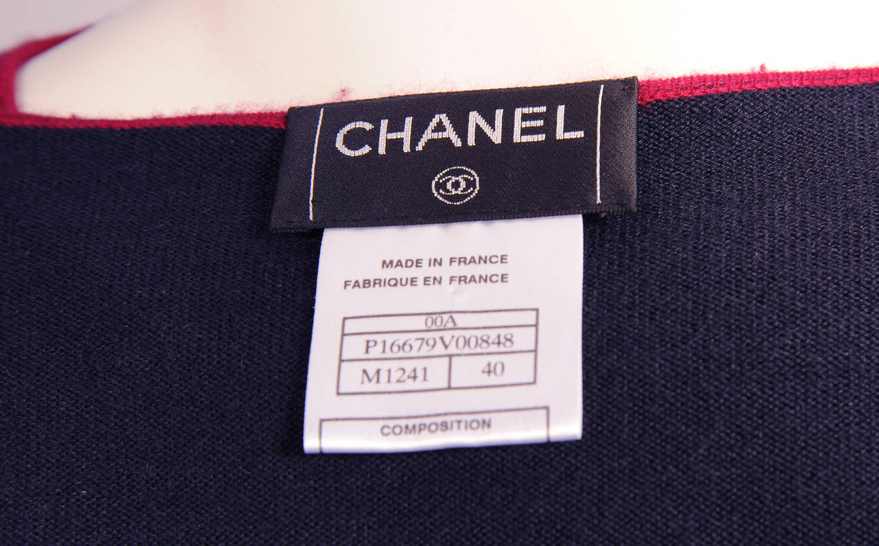 Chanel Cashmere Cardigan and Shell Set 6