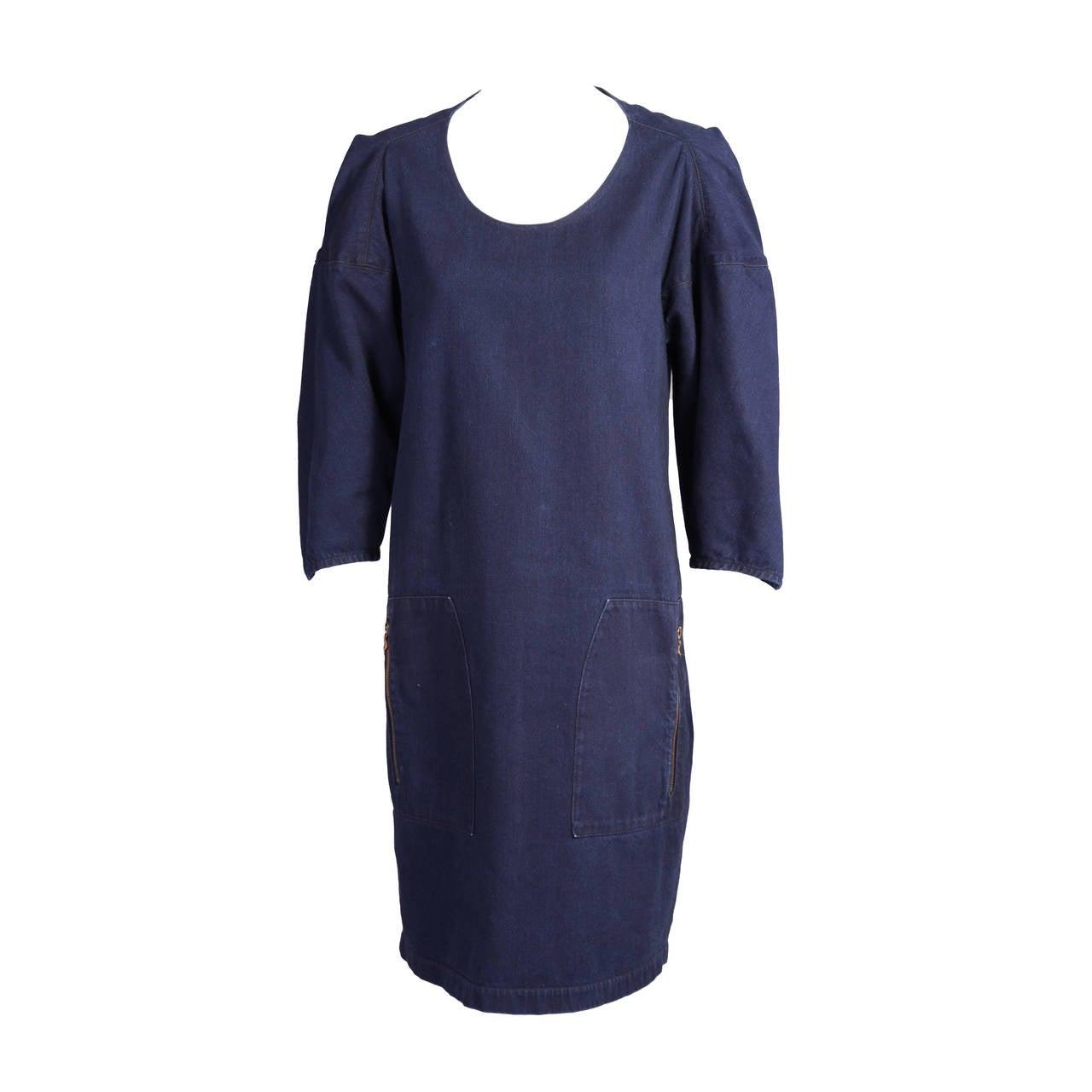 Lanvin Denim Dress