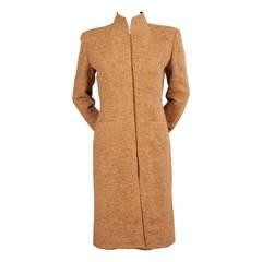 Pierre Balmain Haute Couture Coat & Dress Ensemble, Runway Worn