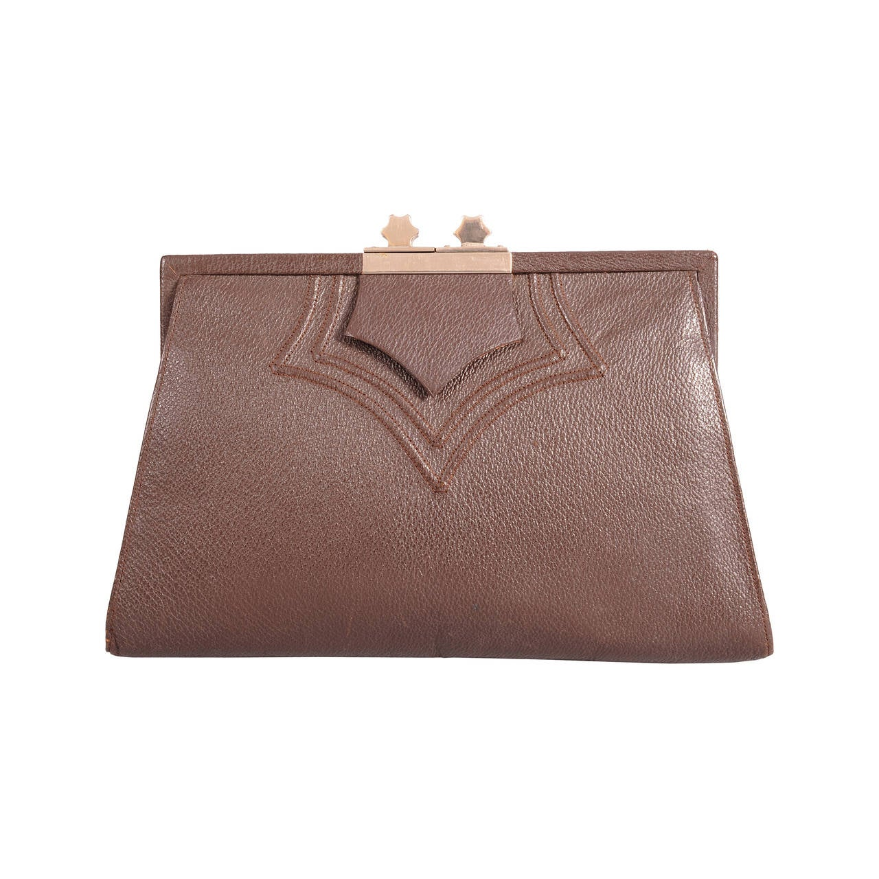 1930's British Art Deco Clutch Bag 1