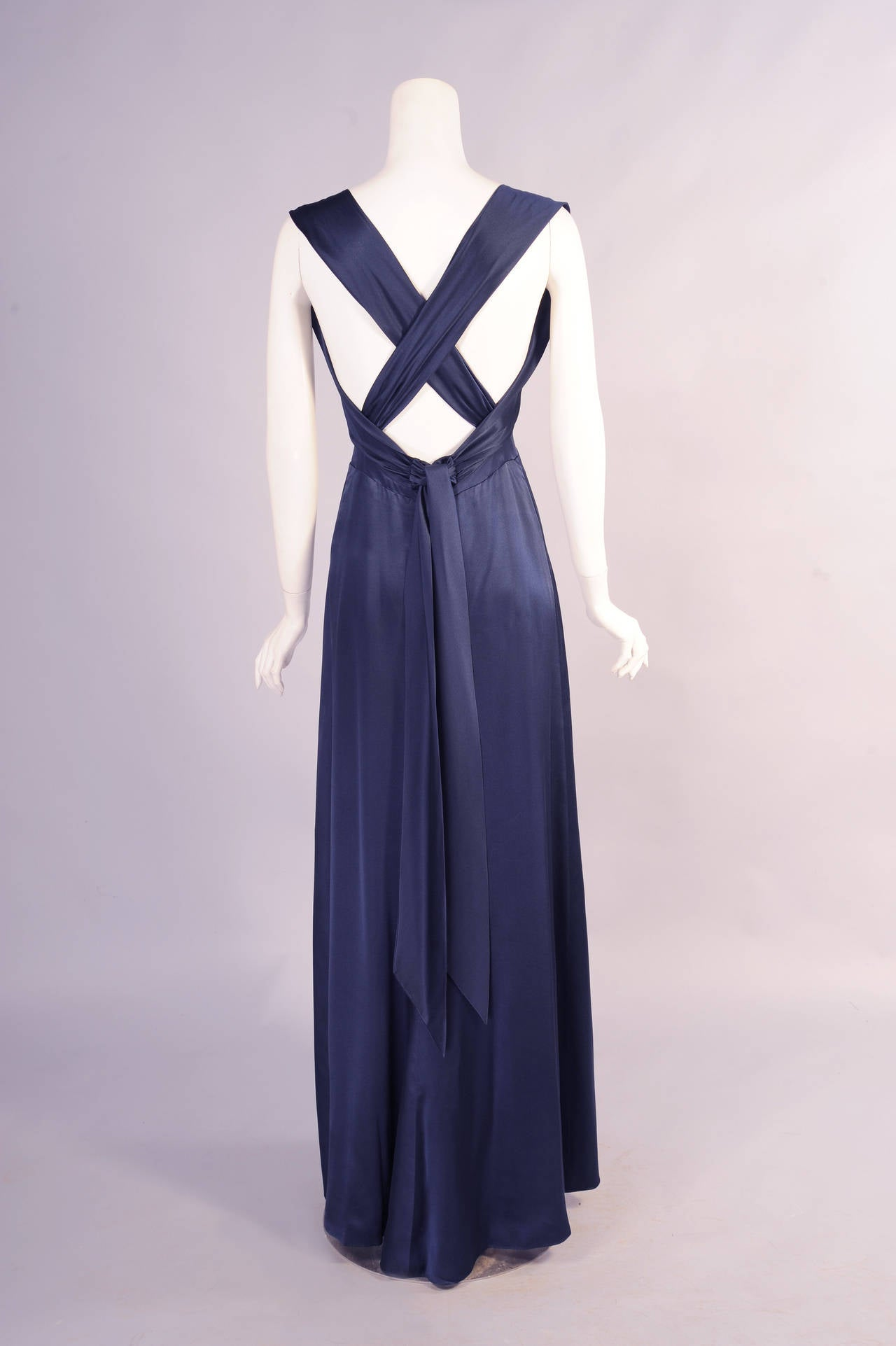 Yves Saint Laurent Numbered Haute Couture Evening Gown 3