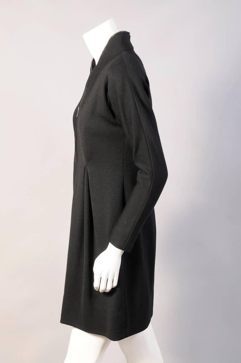 Geoffrey Beene Zipper Around The Neck Dress 4