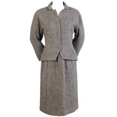1960's Pertegaz, Barcelona  Herringbone Suit