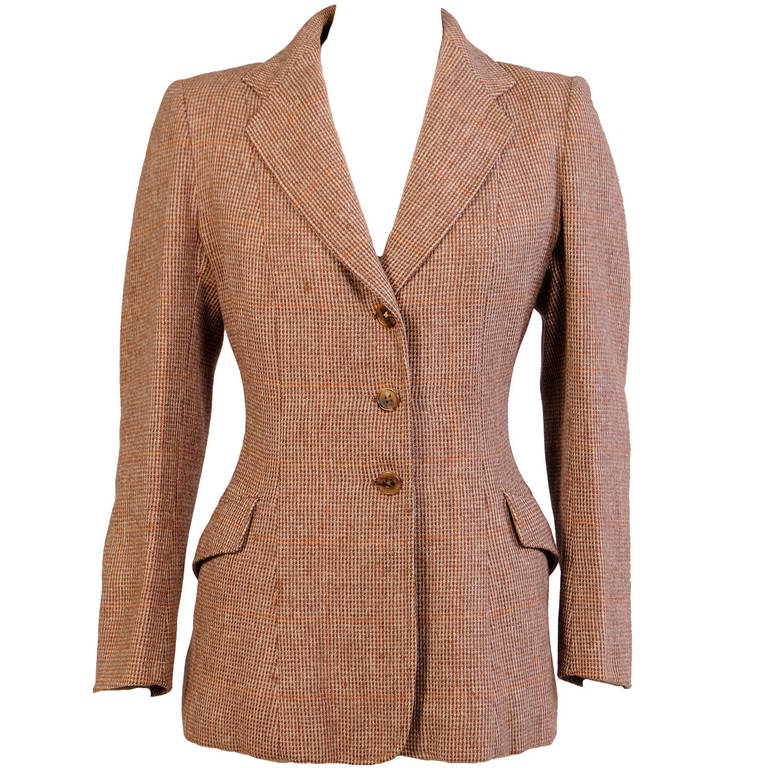 Rowes Furniture Rowes of Bond Street English Riding Jacket For Sale at 1stdibs