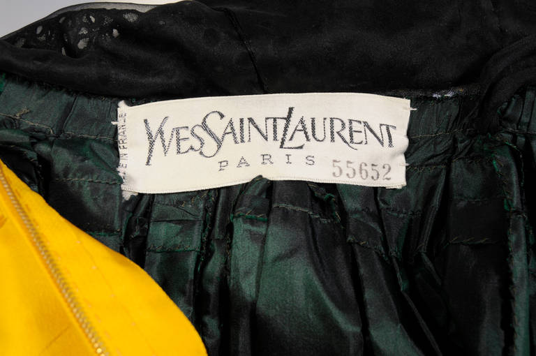 Yves Saint Laurent Haute Couture Ball Gown 8