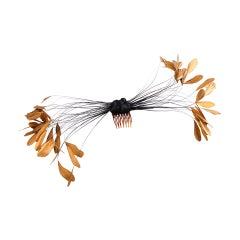 Givenchy Haute Couture Feather Hair Ornament
