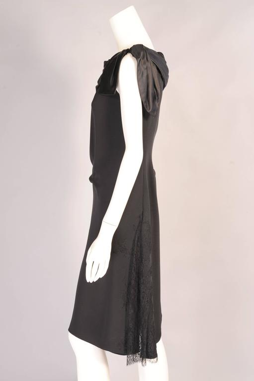 Christian Lacroix Haute Couture Sheath with Optional Tattoo Lace Sleeves 4