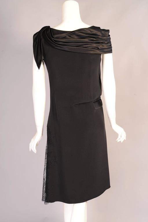 Christian Lacroix Haute Couture Sheath with Optional Tattoo Lace Sleeves 5
