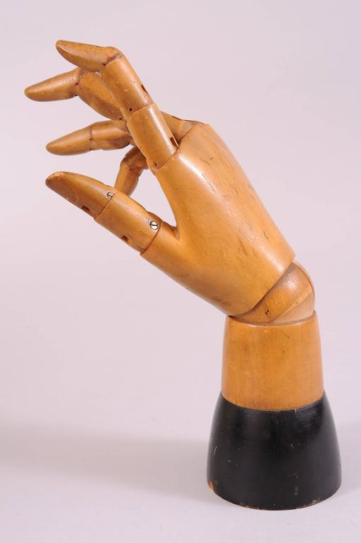 1930 S Articulated Artist S Model Hand Mannequin At 1stdibs