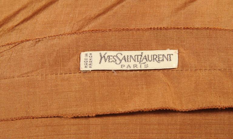 Yves Saint Laurent Haute Couture Silk Blouse 4