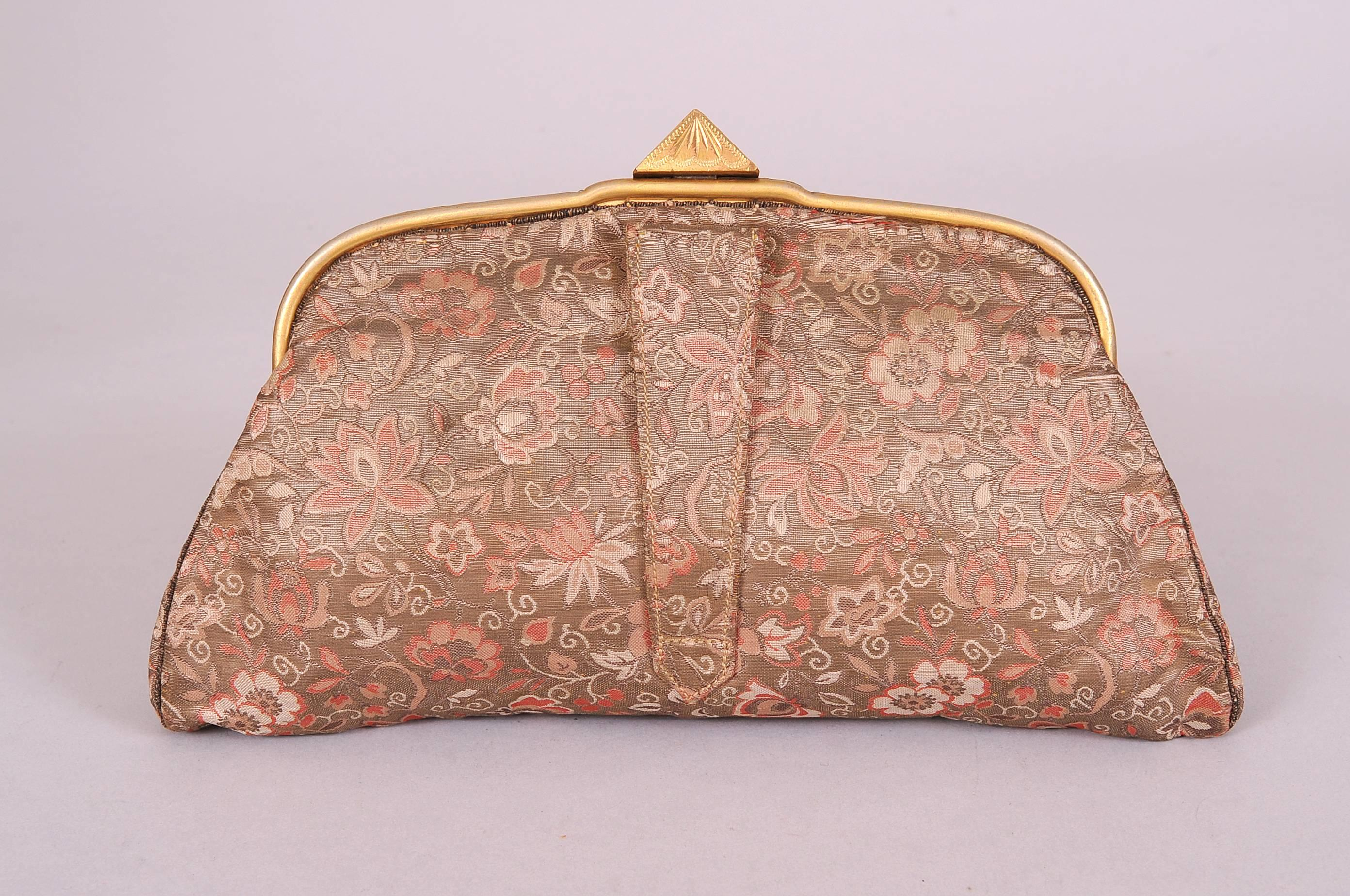 b7204420c32c4 20th Century Bag from 18th Century Russian Imperial Brocade A La Vieille  Russie For Sale at 1stdibs
