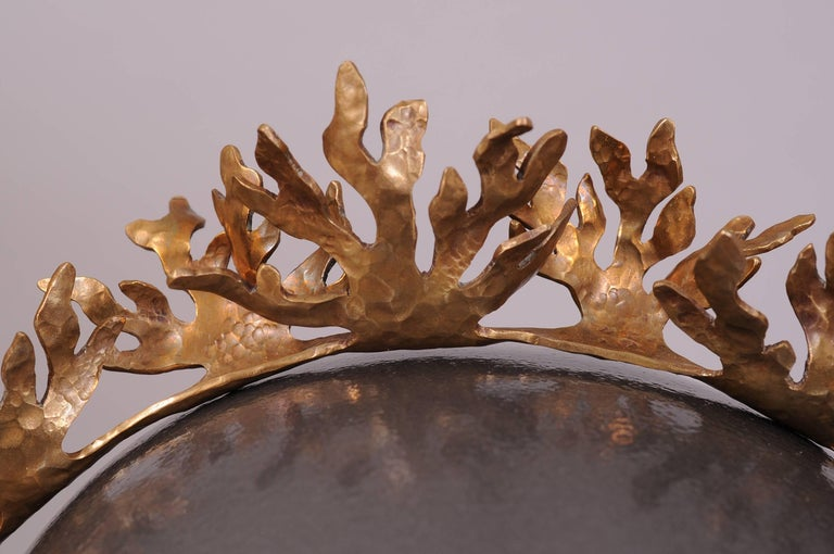 The grand daughter of Antonio Castillo and the daughter of Emilia Castillo, Christina Romo is a well regarded designer in her own right. This innovative design for a tiara or headband is made from tumbaga, an alloy of gold and copper that was also