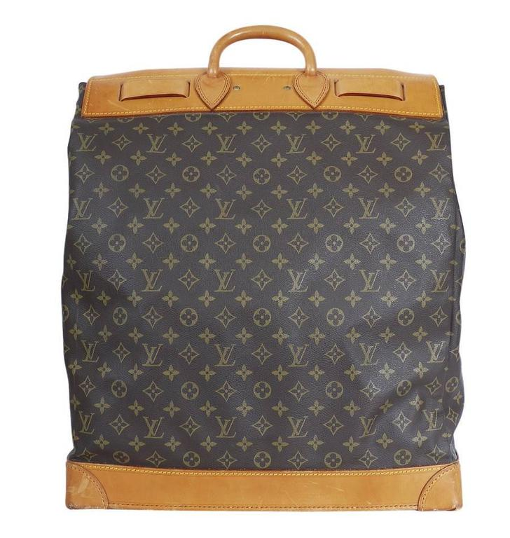 Louis Vuitton Monogram Steamer 45 Travel Bag 3