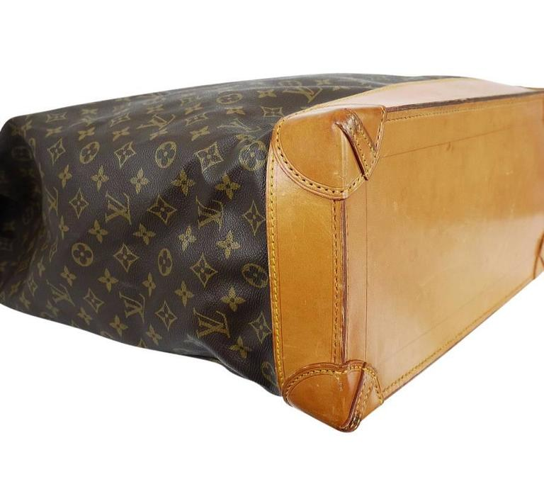 Louis Vuitton Monogram Steamer 45 Travel Bag 5