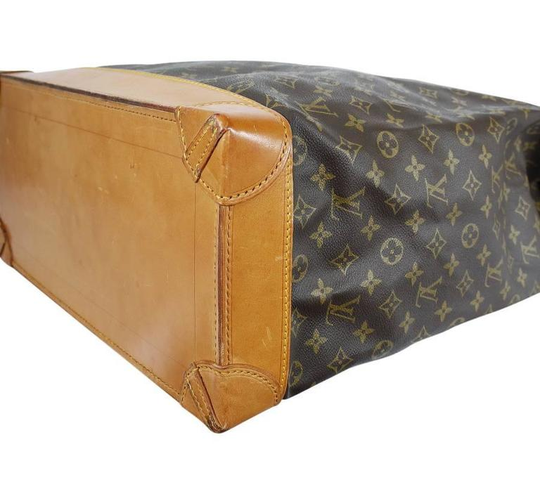 Louis Vuitton Monogram Steamer 45 Travel Bag 6